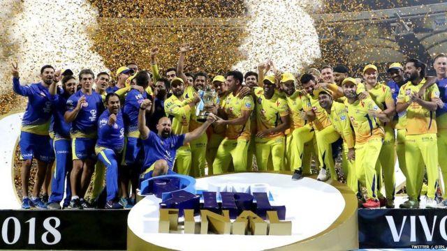 विजेता संघ चेन्नई सुपर किंग्स
