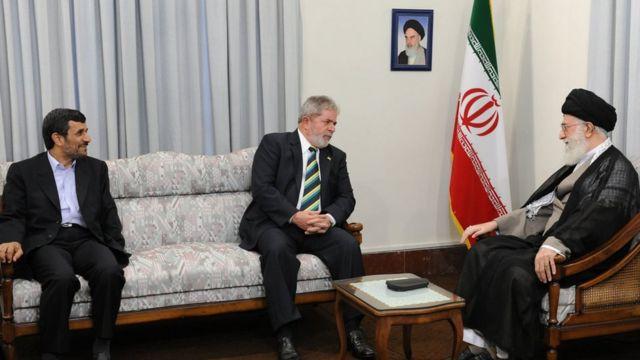 خامنهای، داسیلوا، احمدی نژاد