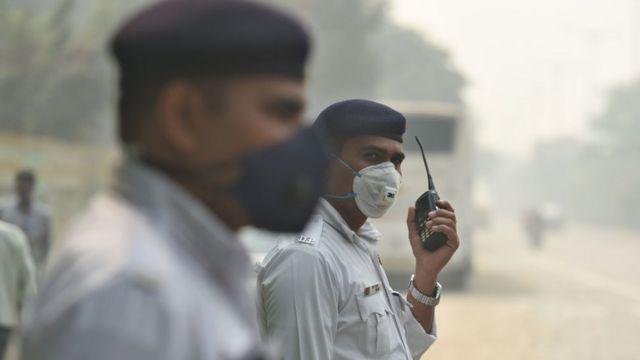 दिल्ली पुलिस के जवान