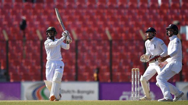 সাব্বির রহমান অপরাজিত ৬৪ রান করেন দ্বিতীয় ইনিংসে