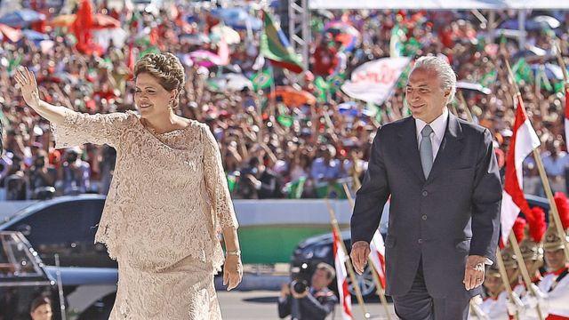 Popularidade da presidente afastada caiu no começo do segundo mandato