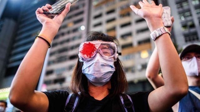 外界關注《國安法》會否激化香港的示威。