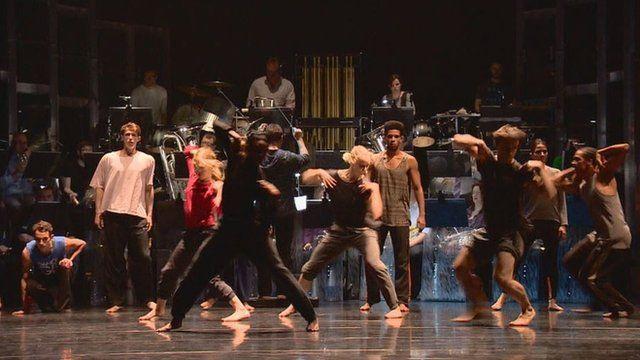 Rambert Dance Company and Whitburn Band