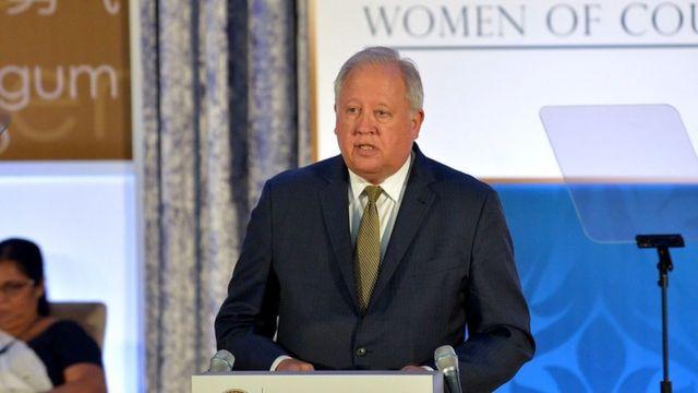 Tom Shannon, retratado em 2017, como Subsecretário de Estado