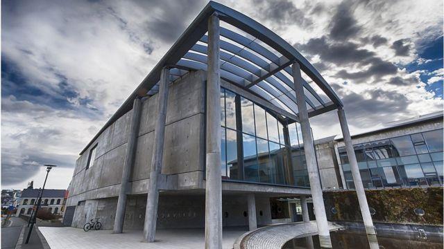 Ayuntamiento de Reykjavik.