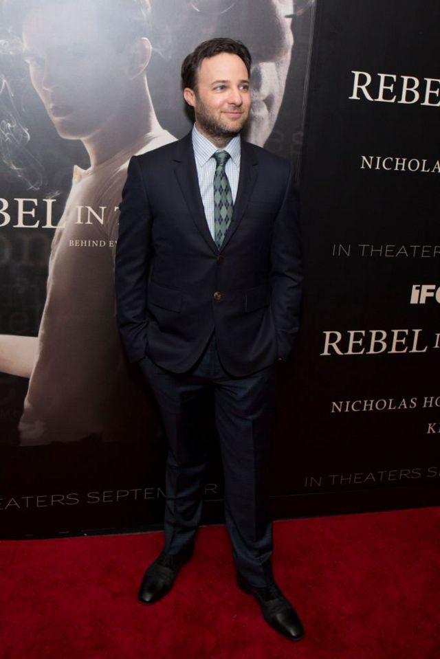 """Режиссер Дэнни Стронг на премьере своего фильма """"Бунтарь во ржи"""" (""""За пропастью во ржи"""") в Нью-Йорке. 6 сентября 2017 г."""