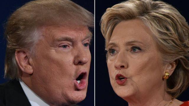يسعى المرشحان الديمقراطي والجمهوري للفوز بأصوات الأمريكيين