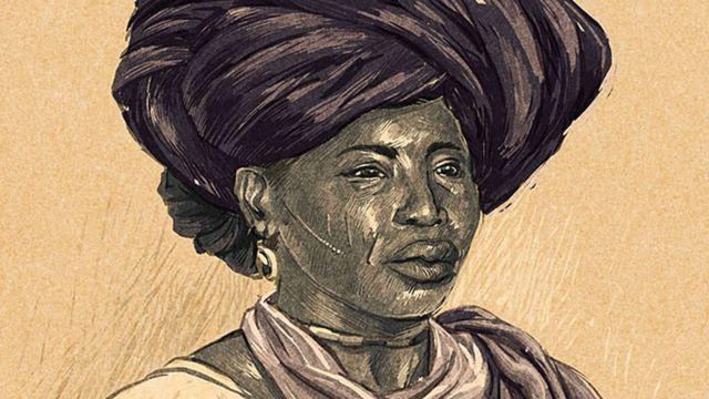 Ilustração Adelina