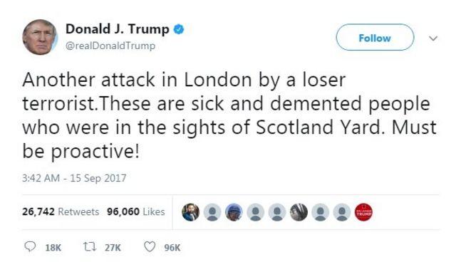 เกิดการโจมตีอีกครั้งในกรุงลอนดอน โดยฝีมือของผู้ก่อการร้ายขี้แพ้ คนพวกนี้ป่วยและเป็นบ้า และอยู่ในสายตาของสก็อตแลนด์ ยาร์ด ต้องมีปฏิกิริยาเชิงรุกมากกว่านี้