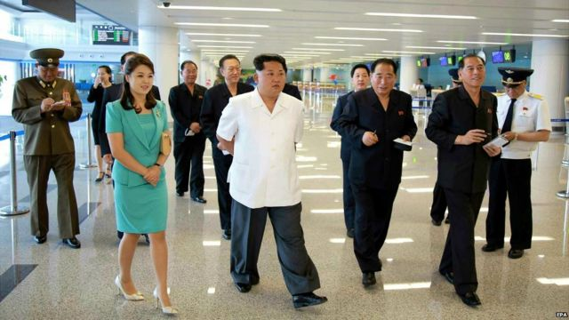 North Korea unveils gleaming new airport for Pyongyang