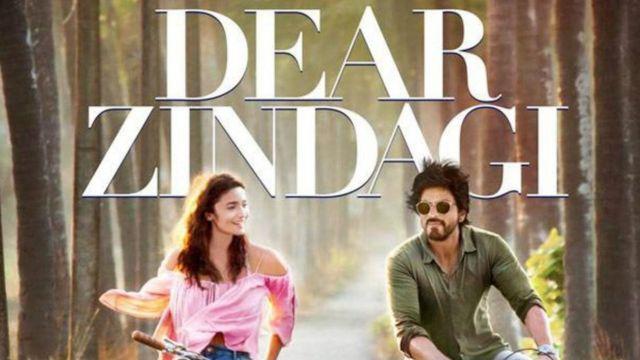 फ़िल्म डियर ज़िंदगी' में आलिया भट्ट और शाहरुख खान