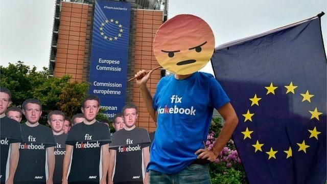 Цукерберг в ЕС
