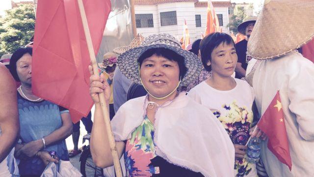Vecinos de Wukan