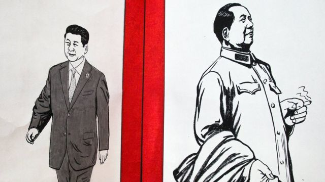 習近平通過修憲鞏固了個人權力,並確認他成為自40年前毛澤東逝世以來中國最有權力的領導人。