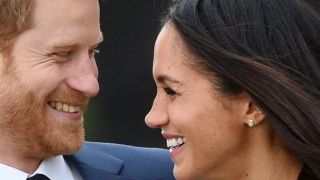 Príncipe Harry y Megham Markle