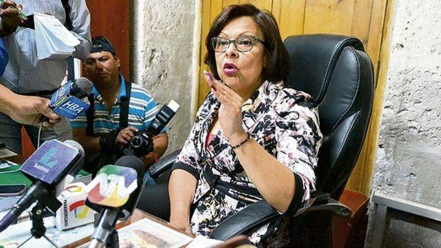 La fiscal Miriam Herrera