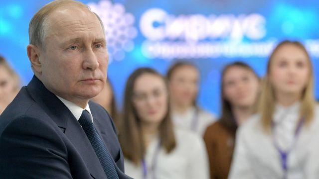 """Президент Владимир Путин лично участвует в мероприях """"Сириуса"""""""