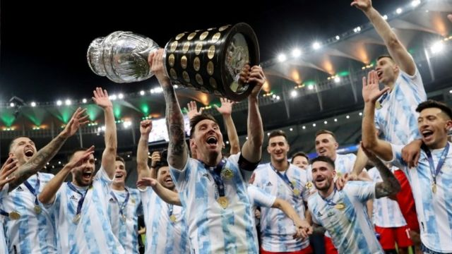 Copa América 2021: la Argentina de Messi le gana a Brasil en el Maracaná -  BBC News Mundo