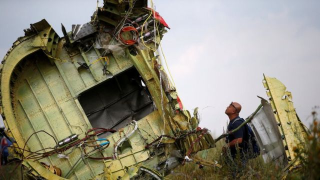 MH17 wreckage 22 July 2014