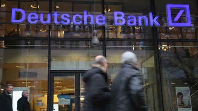 Una sucursal del Deutsche Bank