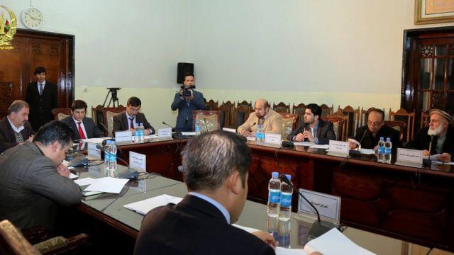 جلسه کمیته قوانین کابینه