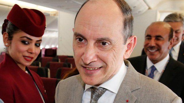 أكبر الباكر المدير التنفيذي للخطوط الجوية القطرية