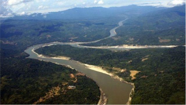 သဘာဝ အလှအပတွေရှိရာ မြစ်ဆုံ ဒေသ ပျက်စီးမှာ စိုးရိမ်နေကြ