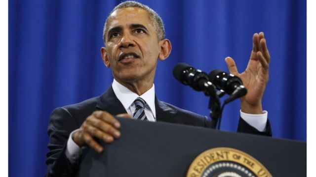خطاب أوباما الأخير عن التهديد الإرهابي قبل انتهاء ولايته الرئاسية