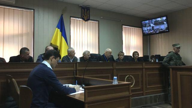 """Заседание суда по делу """"беркутовцев"""" 19 декабря 2019 года"""