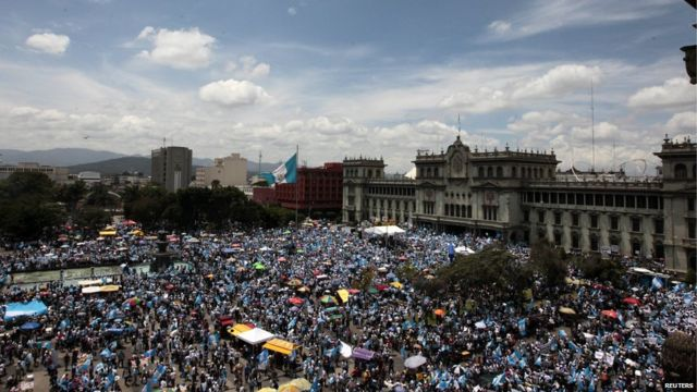 Imyiyerekano mu muji wa Guatemala