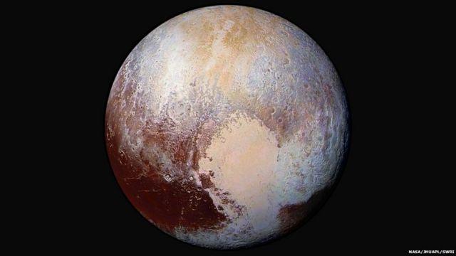 New Horizons: Pluto may have 'nitrogen glaciers'