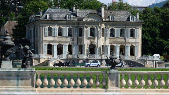 Zirve Cenevre'deki Villa La Grange'da yapılacak