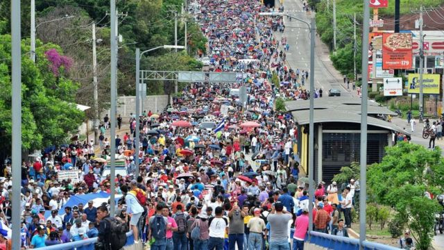 Protestas en Tegucigalpa de profesores y médicos el 31 de mayo.