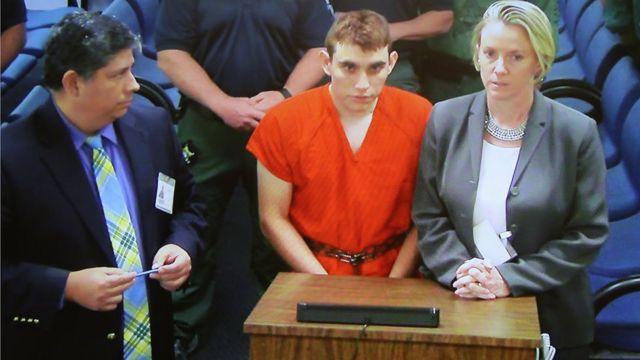 Первое появление Николаса Круза в суде