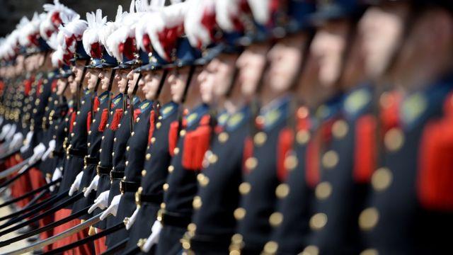 Курсанты военного училища Сен-Сир