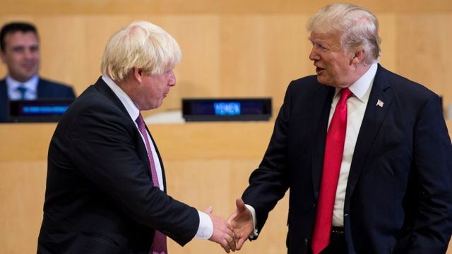 What has Boris Johnson said about other countries and their leaders?