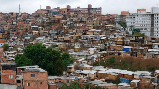 Favela de Sao Paulo.