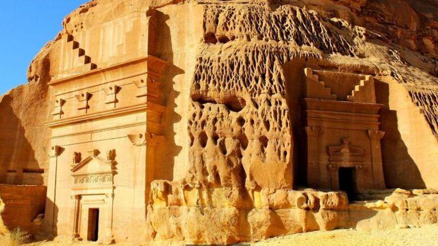 قسمتهای زیادی از مداین صالح هنوز حفاری نشده است