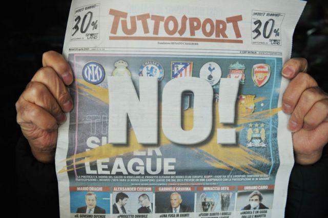 """""""Суперліга вбиває футбол"""": що пише європейська преса про новий проєкт"""