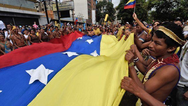 Los manifestantes llegaron desde diferentes partes del país, incluidos pueblos originarios.