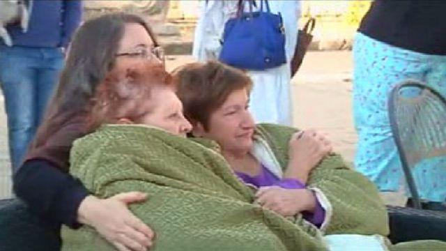 سكان بلدة نورسيا في حالة ذعر بعد وقوع الزلزال