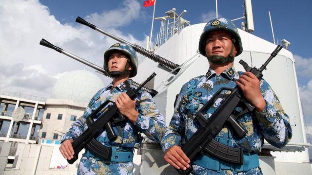作为世界第五大武器出口国,中国的军火出口下降了7.8%。