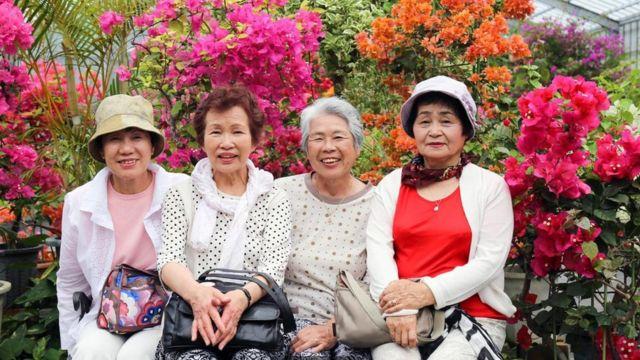 Mujeres en Okinawa