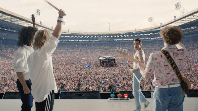 Fotograma de la película Bohemian Rhapsody