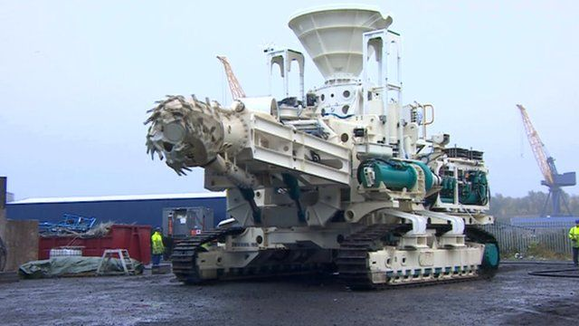 Pioneering deep sea mining machines made on Tyneside
