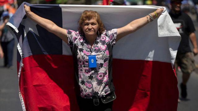 protestas en chile AFP