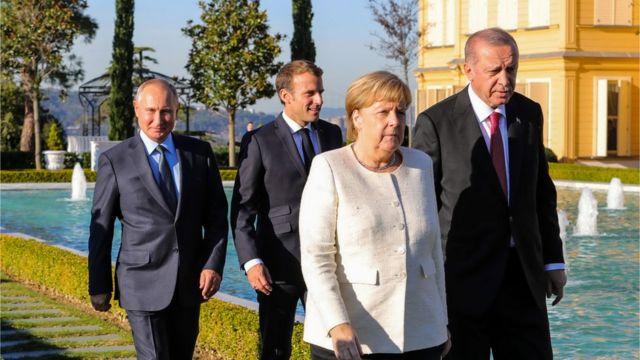 В Стамбуле завершился четырехсторонний саммит по Сирии