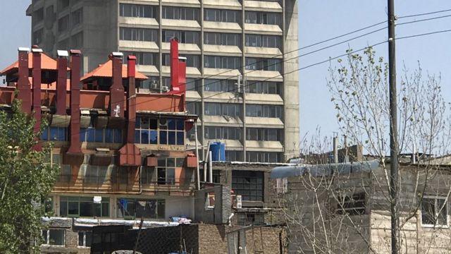 Dhismaha wasaaradda wuxuu ku yaallaa bartamaha Kabul