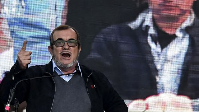 "Rodrigo Londoño, conocido como ""Timochenko""."