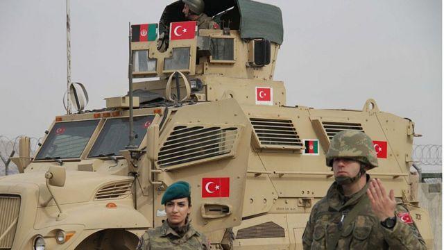 Kabil'deki Türk askerleri